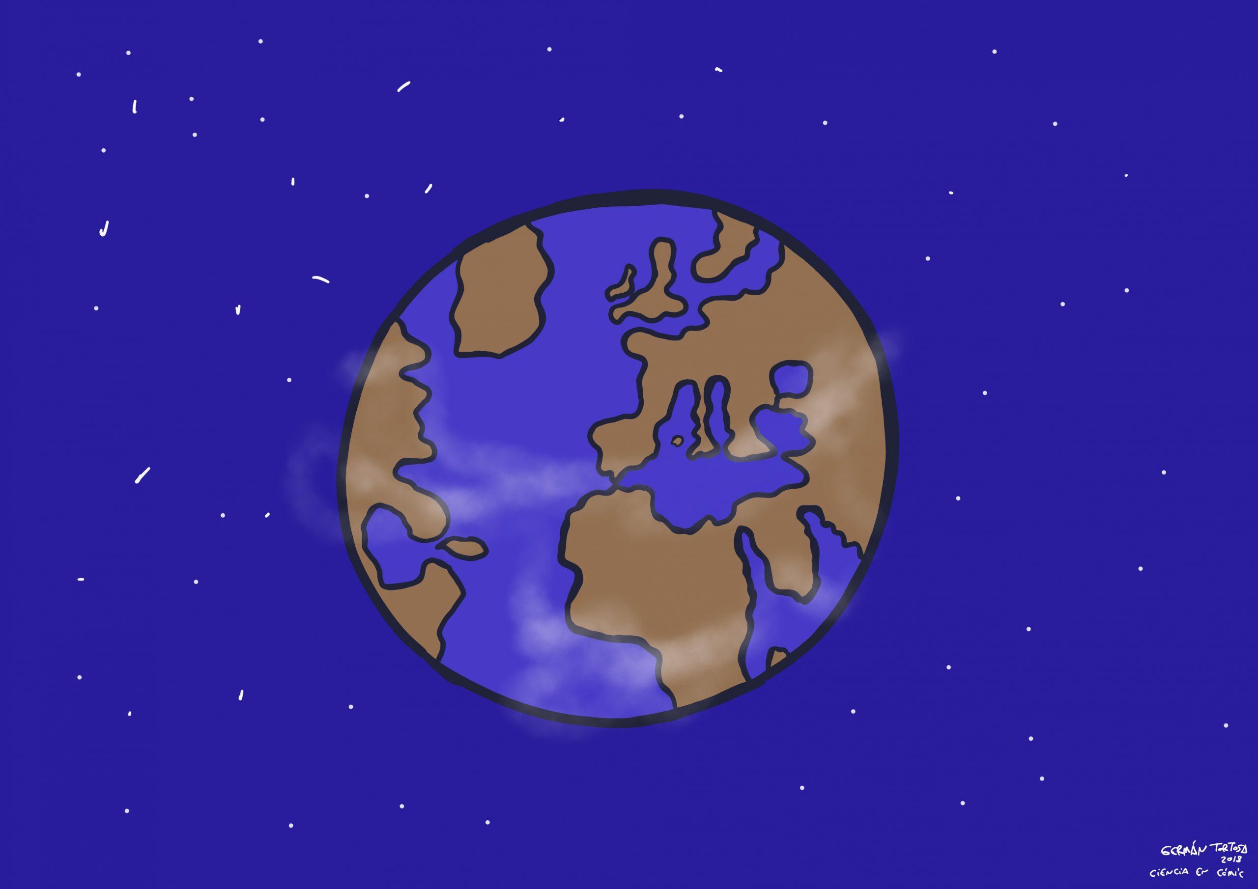 04) Mis ilustraciones: Un planeta llamado La Tierra