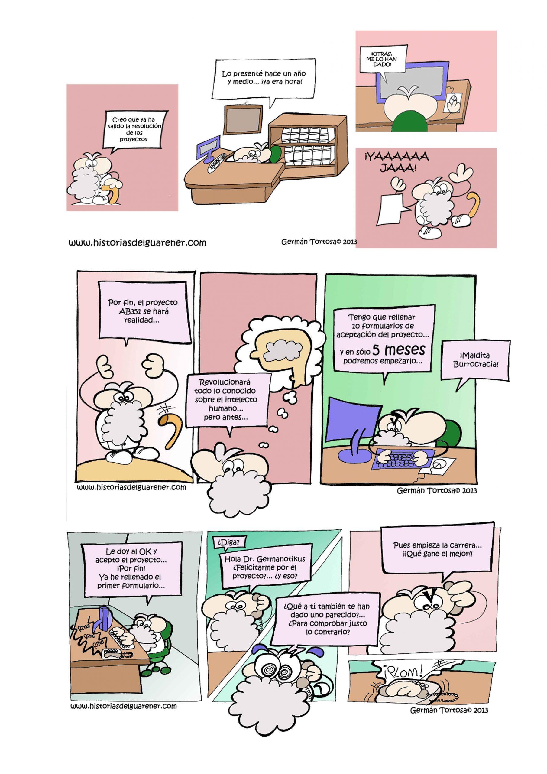 03) Mis cómics: Proyectos de científicos