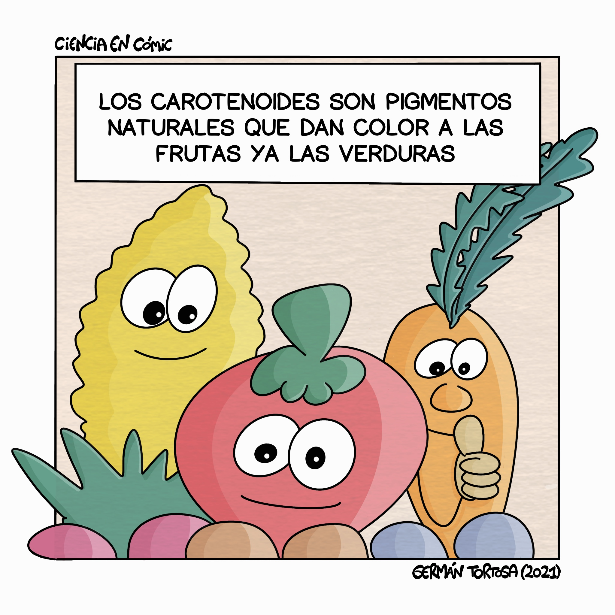 02) Microconceptos: Carotenoides y el color de las frutas